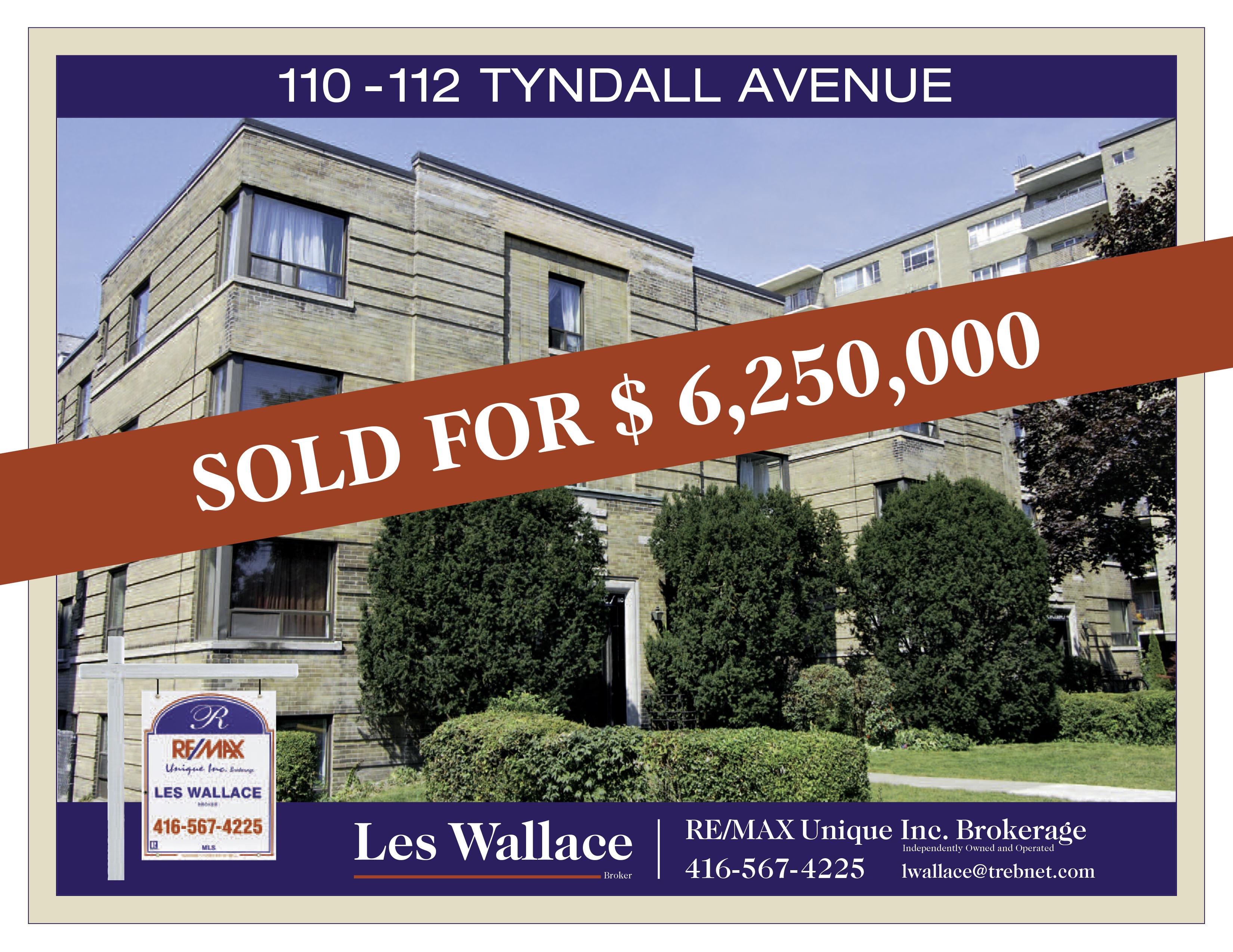 110 – 112 Tyndall Avenue